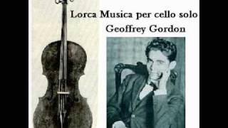 Lorca Musica per cello solo