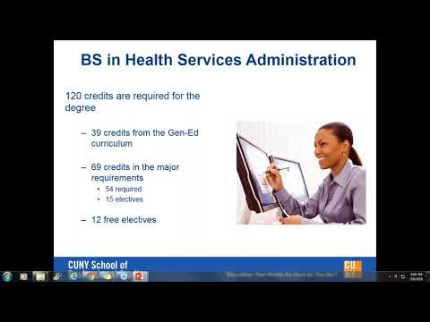 Information Session: Online BS in Health Services Administration