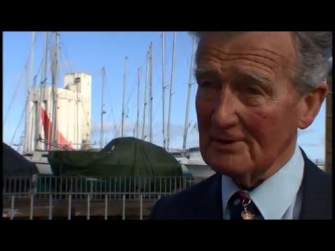 WW2 Veterans Major General Corran Purdon and Tiger Watson talk about the Raid on St Nazaire in 2009