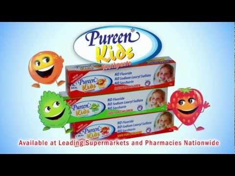 Pureen Kids Toothpaste (Fluoride Free)