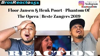Floor Jansen & Henk Poort - Phantom Of The Opera   Beste Zangers 2019   REACTION