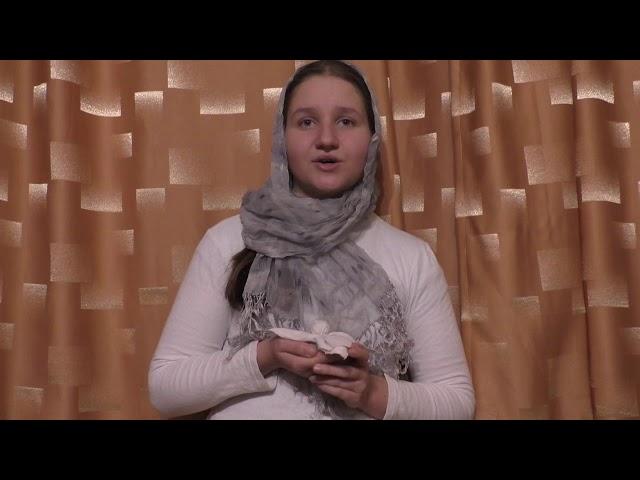 Изображение предпросмотра прочтения – ЕвгенияПолухова читает произведение «Девушка пела в церковном хоре» А.А.Блока