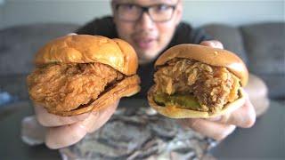 POPEYE Chicken Sandwich vs KFC Chicken Sandwich