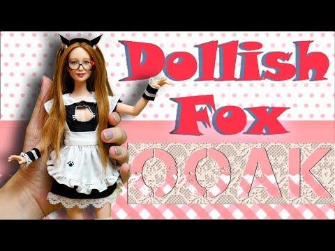 OOAK Dollish Fox | Портретная кукла