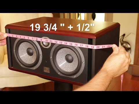 Making A Studio Monitor / Speaker Dust Cover (Focal Twin6 Be)