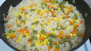 Arroz a la Mantequilla | Arroz ala Margarina