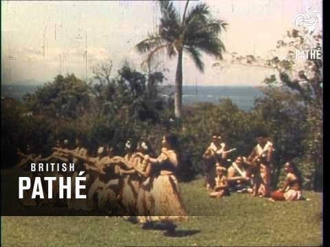The Royal Tour - Fiji And Tonga - Reel 1     (1954)