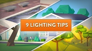 Cinema 4D  |  9 Lighting Tips