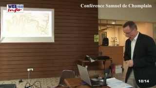 Samuel de Champlain raconté par Eric Thierry, historien.