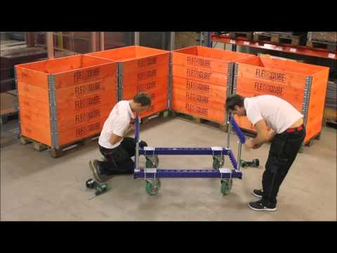 FlexQube  - Modular material handling