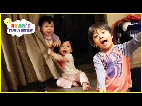 Thumbnail: Hide N Seek Family Fun with Twin Babies at the Hotel Great Wolf Lodge and Eating Ice Creams