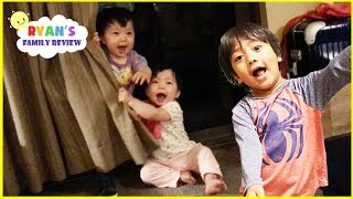 Hide N Seek Family Fun with Twin Babies at the Hotel Great Wolf Lodge and Eating Ice Creams