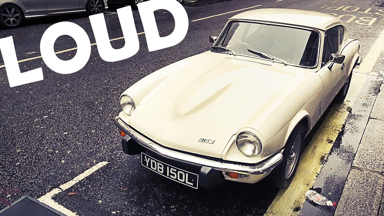 A day with a LOUD Triumph GT6