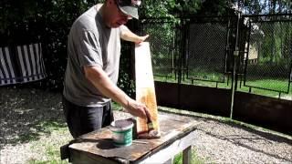 видео Деревянная дорожка в саду своими руками