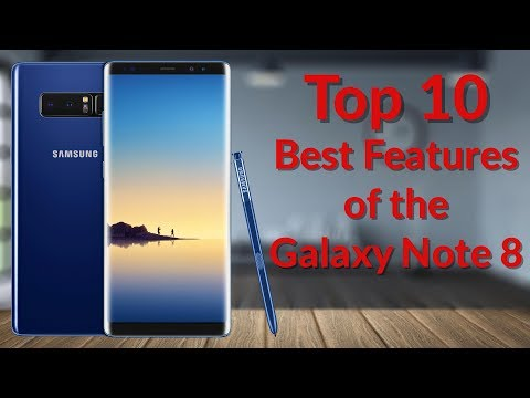 Top 10 Best Features of the Galaxy Note 8 - YouTube Tech Guy