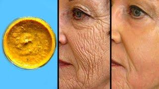 Diese Maske entfernt Deine Falten im Gesicht und lässt Dich wieder jünger aussehen