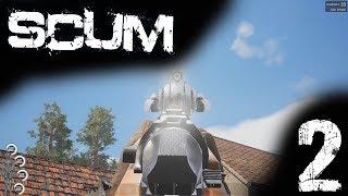 SCUM Gameplay DE #002 Wir sind zu doof für Kisten