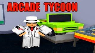 NOTRE PROPRE ARCADE! - Arcade Tycoon Ep1 - ROBLOX