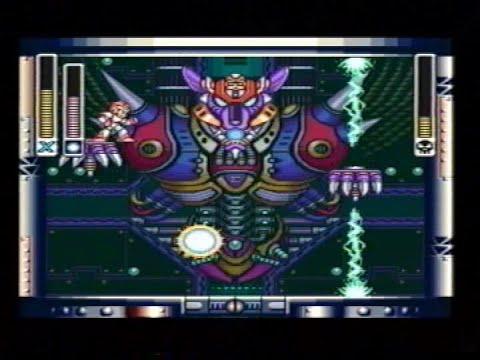 Mega man X last boss + ending