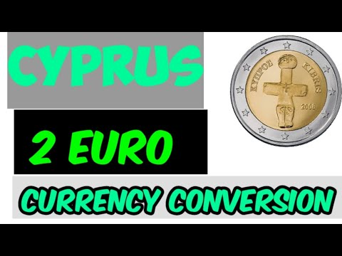 CYPRUS £2 EURO Coin 3000 BC   Cyprus Euro   Cyprus Currency   Country Currency