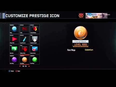Level 1000 in Zombies | All icons unlocked