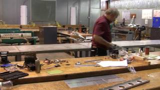 AVT 206 A&P Shęet Metal Class - P2 - Cutting out the damaged section