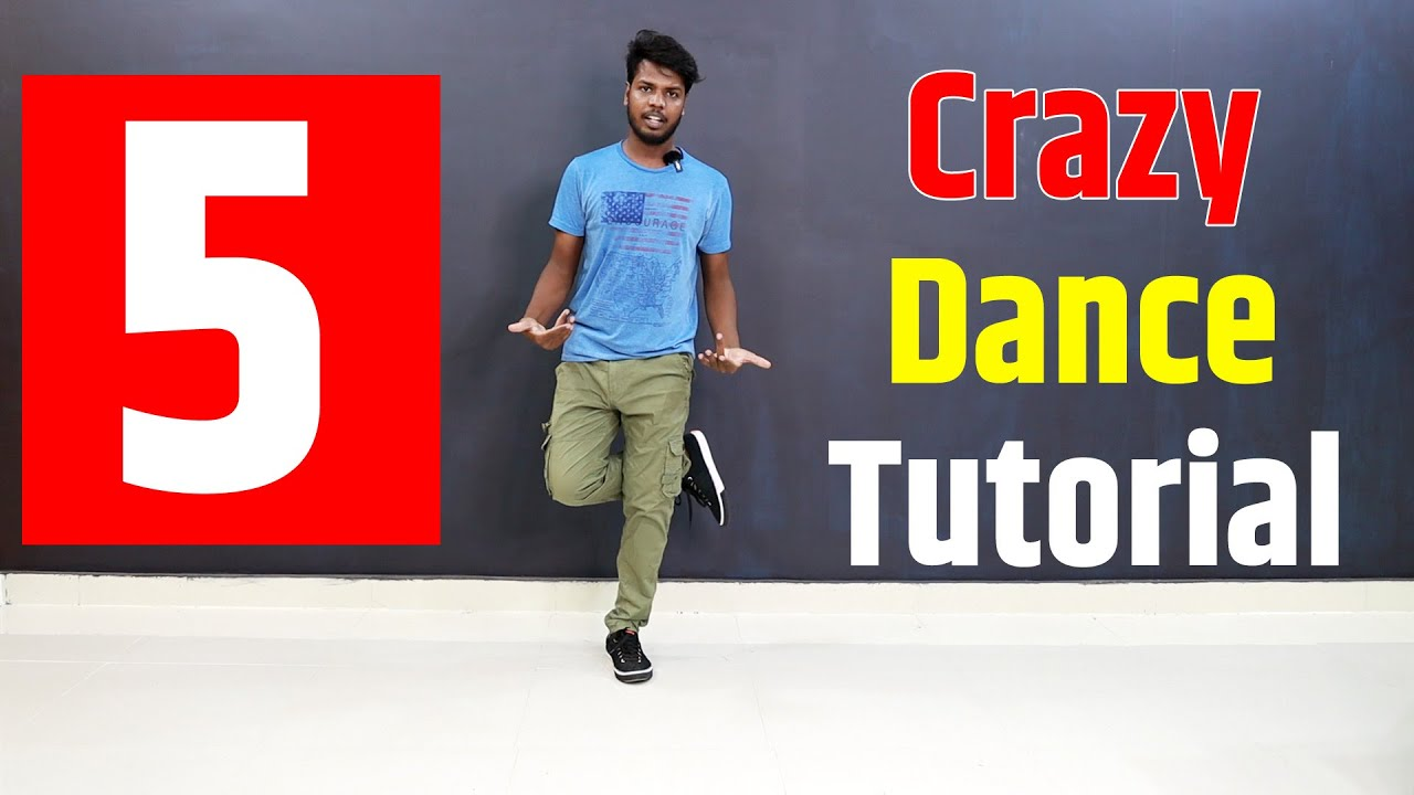 10 CRAZY Footwork Dance Tutorial