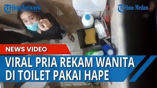 Viral Pria Rekam Wanita Di Toilet, Sembunyikan HP Di Atas Plafon