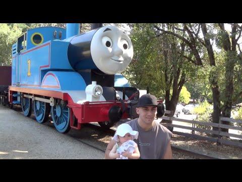 Hollywood actor vlog|Thomas the train in Santa Cruz