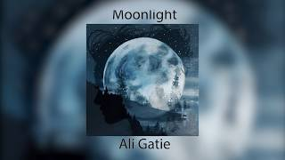 Cover images Ali Gatie - Moonlight (Lyrics) Prod Adriano
