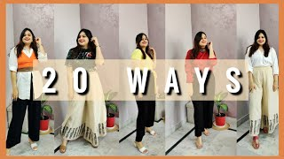 20 Ways to Style Palazzo Pants• How to Style PALAZZOS During Summers?