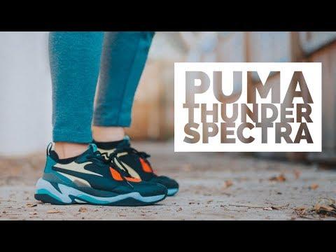 Đập Hộp + Đánh giá + On Feet đôi Puma Thunder Spectra - Hung Dinh
