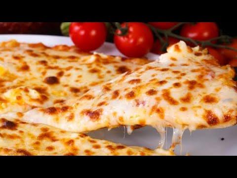 صورة  طريقة عمل البيتزا تعلمي تركات الشيف حسن لعمل عجينة البيتزا البيتي طريقة عمل البيتزا بالفراخ من يوتيوب