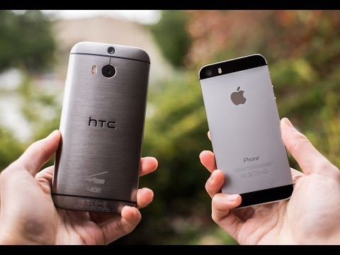 12 Reasons HTC One (M8) is better than the iPhone 5s!