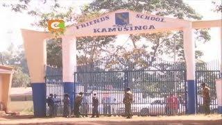 Vurumai lazuka katika shule ya upili ya Friends, Kamusinga