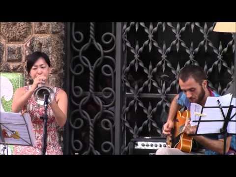 Natsuko Sugao & Iago Marta Nits Gaudí Jazz 2015