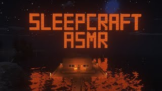 Sleepcraft ASMR | Dave Builds a Boat House | Minecraft + Layered Sounds