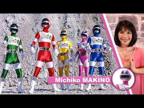 Japan Expo 20e Impact : Interview de Michiko MAKINO [Actrice force rose BIOMAN]