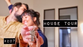 Schlüsselübergabe I Leere Wohnungstour & Abriss der Wände