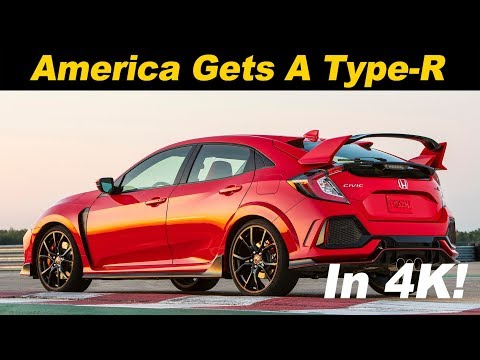 2018 Honda Civic Type R First Drive Review In 4K UHD!