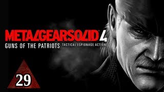 Metal Gear Solid 4 Walkthrough - Part 29 Retro Snake Let's Play MGS4 Gameplay Commentary
