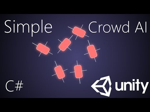 Simple Crowd AI in Unity 3D - Tutorial