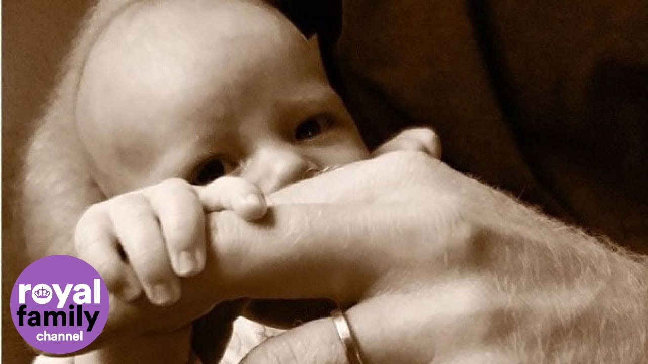 Here's Baby Archie, on Prince Harry's First Father's Day
