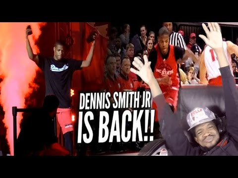 THE GOAT IS BACK!! DENNIS SMITH JR NEW BALLISLIFE MIXTAPE REACTION