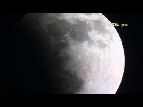 Lunar Wave Filmed During Eclipse -Historic!