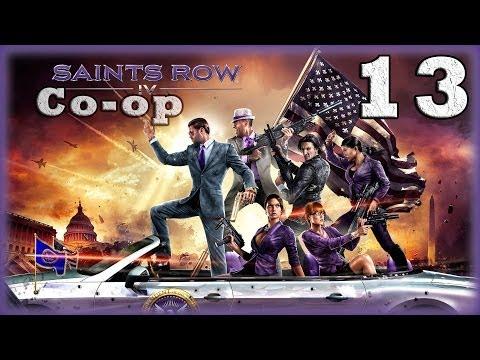 Смотреть прохождение игры [Coop] Saints Row IV. Серия 13 - Гигантские роботы-убийцы. [16+]