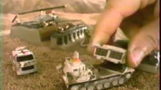 1992 Micro Machines Military commercial