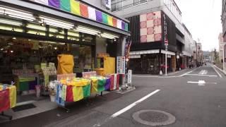 堀川通から正面通へ 京都市下京区