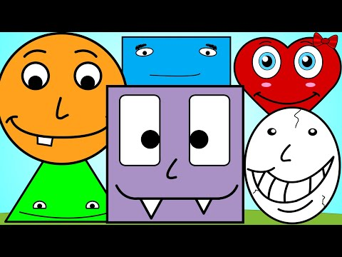 Shapes Song 3 | Learn Shapes For Kids