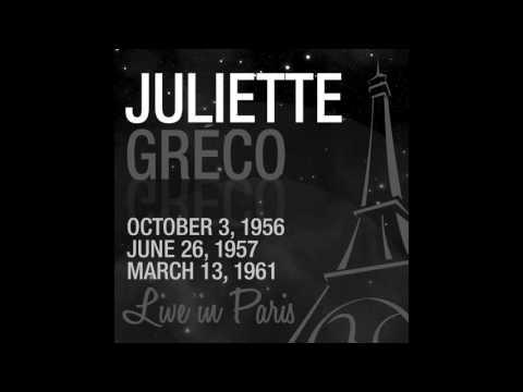Juliette Gréco - Je prends les choses du bon côté (feat. Eddie Constantine) [Live 1956]